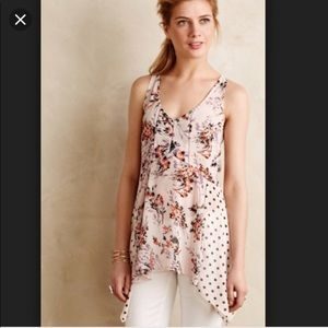 Vanessa Virginia Garden Pop Floral Tank